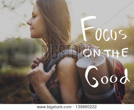 Lifestyle Positive Thoughts Mind Life Concept