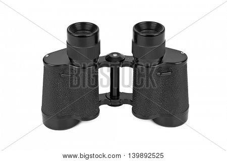 Binoculars isolated on white background