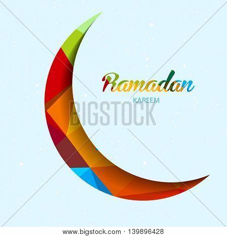 Illustration of Ramadan Kareem easy all editable