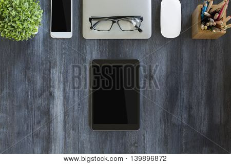 Tablet And Other Items