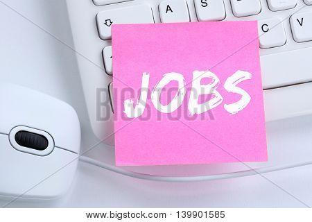 Jobs, Job Working Recruitment Employees Business Concept Office