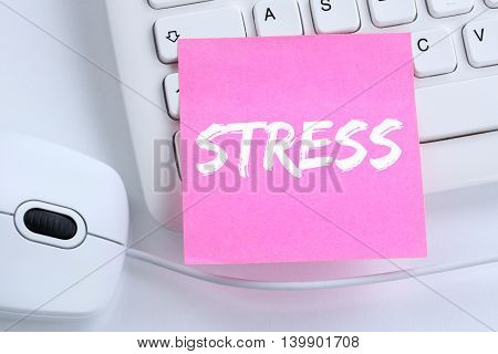Stress Stressed Business Concept Burnout At Work Relaxed Office
