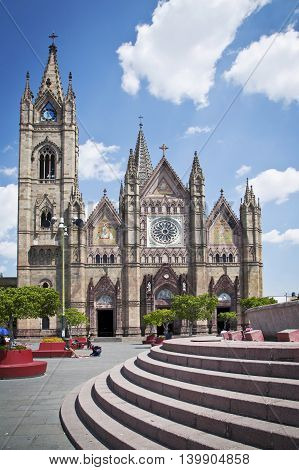 A beautiful Monuments of Guadalajara Jalisco Mexico
