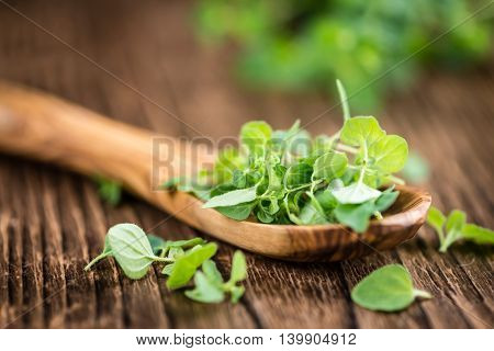 Portion Of Fresh Oregano