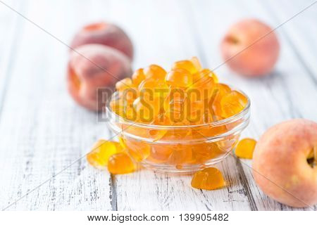 Gummy Peaches