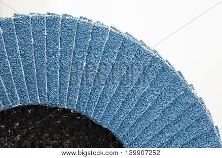 abrasive disk for metal grinding, cutting isolated on white background