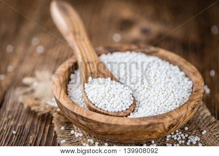 Portion Of Tapioca