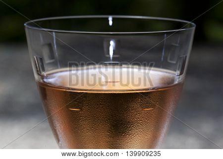 Rose Wine In A Glass