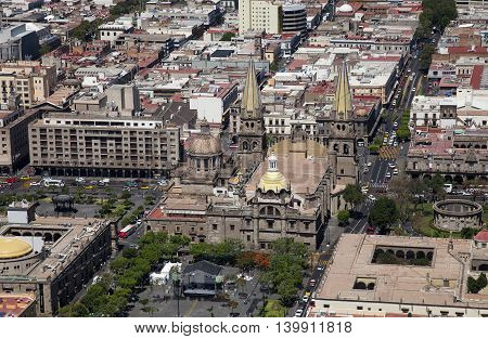 A Historical building in Guadalajara Jalisco Mexico