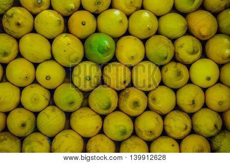 Lemons Background Fresh