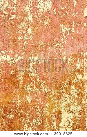 Colorful Natural Plaster Or Cement Wall Old Texture As Background