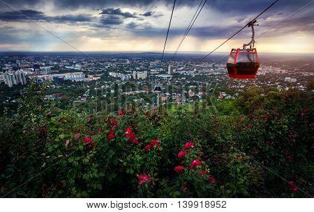 Beautiful View Of Almaty City