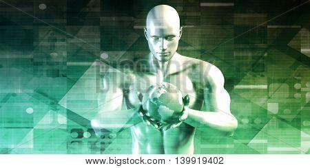 Sales and Marketing Concept in 3d Format 3D Illustration Render