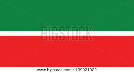 Vector Republic of Tatarstan flag