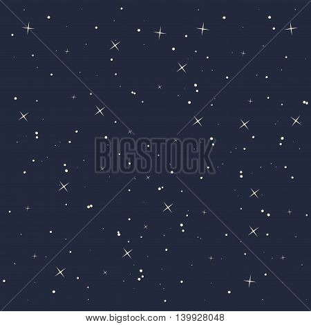 night star sky isolated icon design, vector illustration  graphic