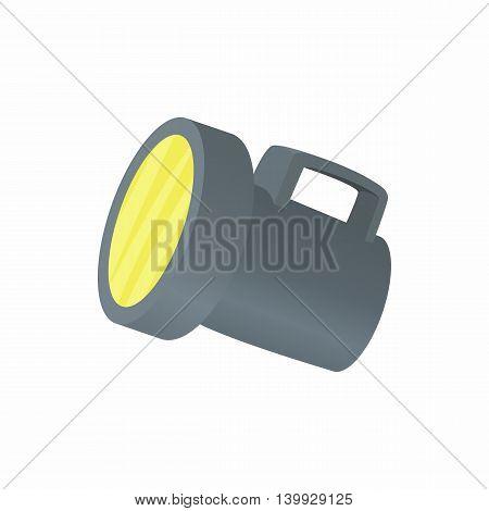 Lantern icon in cartoon style isolated on white background. Illumination symbol