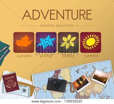 Adventure Exploration Journey Lifestyle Wanderlust Concept