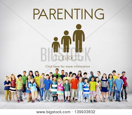 Parenting Generations Togetherness Relationship Concept