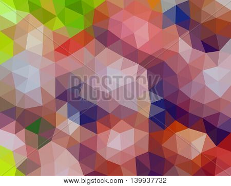 Colorful Multicolor Triangle Geometric Low Poly Gradient Graphic Background Vector Eps10