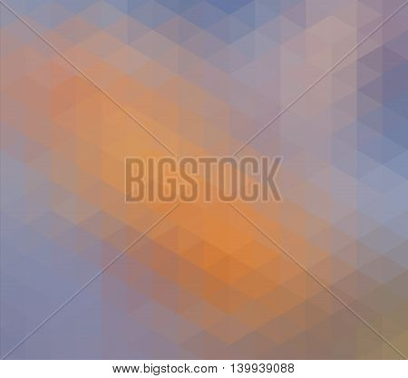Colorful Geometric Low Poly Gradient Graphic Background Vector Eps10