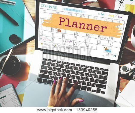 Planner Agenda Reminder Calendar To Do Concept