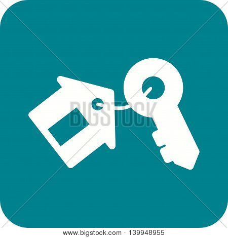 Key, security, house icon vector image. Can also be used for home. Suitable for mobile apps, web apps and print media.