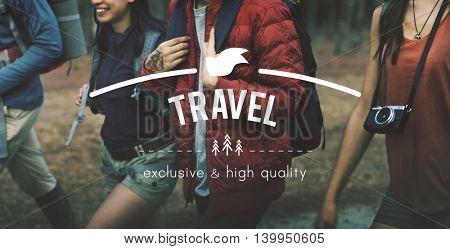 Travel Explore Wanderlust Trip Adventure Concept