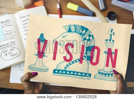 Vision Direction Future Goals Ideas Inspiration Concept