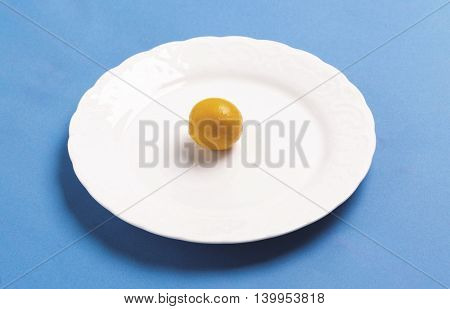 Kumquat On the plate