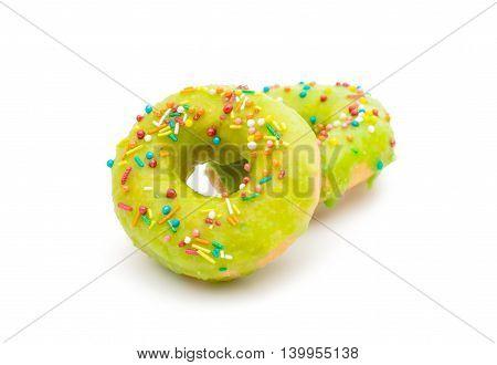 donut glaze bakery on a white background