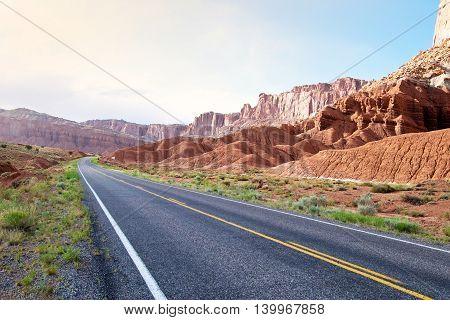 Capitol Reef National Park in Utah USA