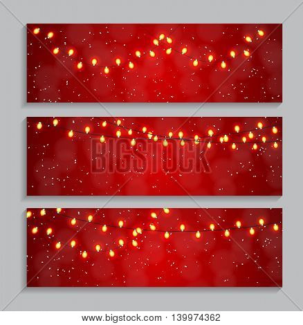 Abstract Beauty Glowing Light Background. Vector Illustration. EPS10