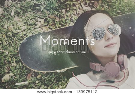 Moments Period of Time Life Memories Concept