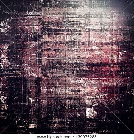 Scratched vintage texture, grunge style frame or background. With different color patterns: gray; black; purple (violet); pink; white