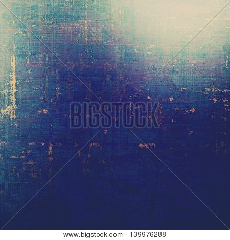 Beautiful retro background, nice looking ancient texture with different color patterns: yellow (beige); gray; blue; purple (violet); cyan