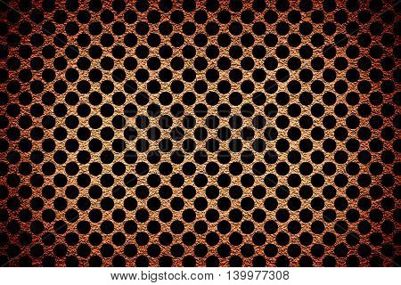 Brown Revetment Wall Putty Vignetting Effect Texture Black Rounds Styled