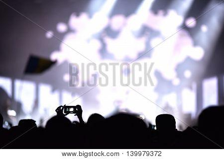 Iphone Recording Live Concert