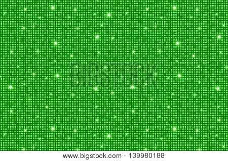 Green Shining Rounds Vintage Luxury Texture Background