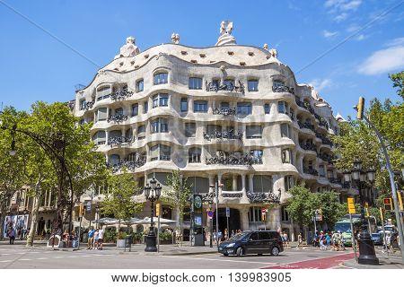 Casa Mila In Barcelona