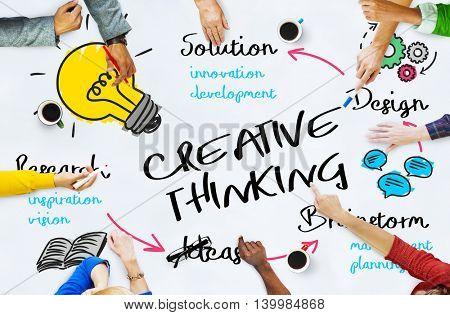 Creativity Design Process Graphics Concept