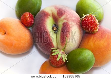 Various Summer Fruits