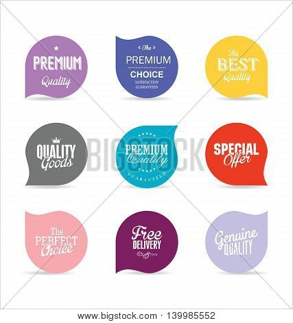 Modern Badges And Labels Collection 5.eps