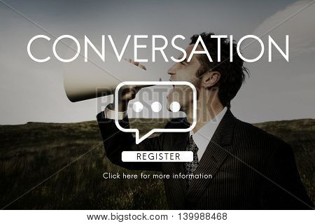 Communication Chat Connection Conversation Concept