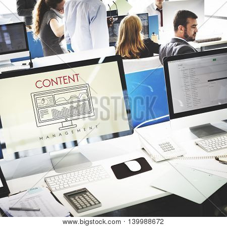 Business Content Analyze Strategy Create Concept