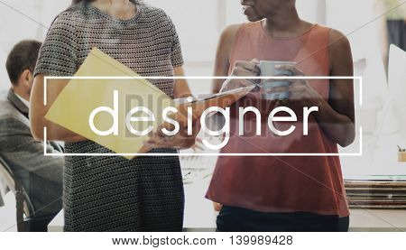Designer Ideas Creativity Thoughts Imagination Inspiration Plan Concept