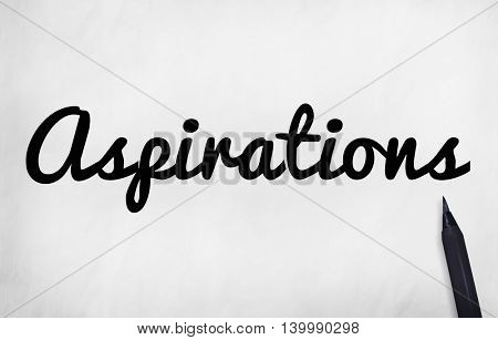 Aspiration Imagination Inspiration Dream Goal Concept