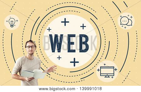 Web Sync Trend Updtae Networking Concept