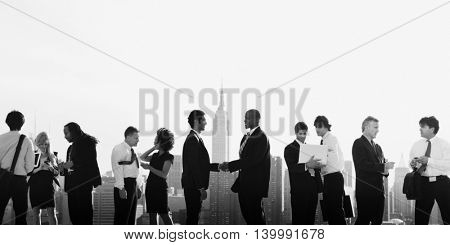 Working Business Connection Communication Concept
