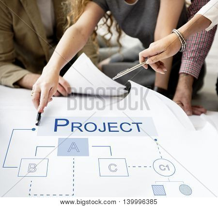 Business Analytics Workflow Process Project Concept