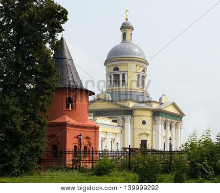 Epifan Village, Russia - July 24, 2016: Nicholas Cathedral